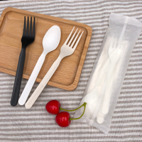 7 Inch Biodegradable Disposable CPLA Cutlery Set